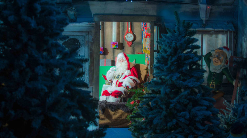 Father Christmas is waiting for you